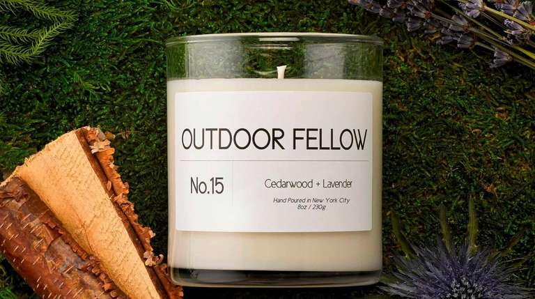 Outdoor Fellow candle; $39.95 at Nordstrom.