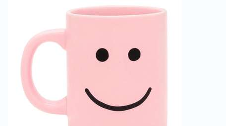 Happy face mug; $14 by ban.do at Bloomingdale's.