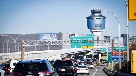 LaGuardia Airport saw the largest increase in passengers