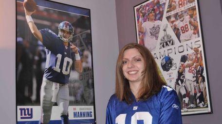 Lauren Goldman was among 20 Giants fans to