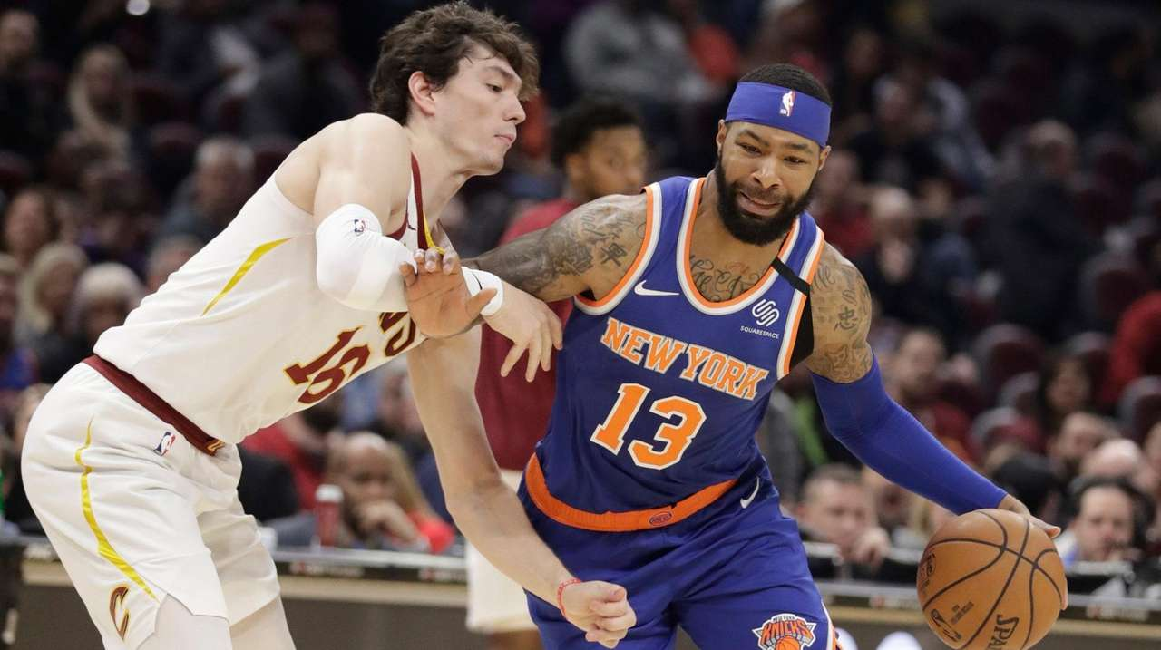 Top Knicks Trade Asset Marcus Morris Scores 26 In Overtime Win Over Cavaliers Newsday