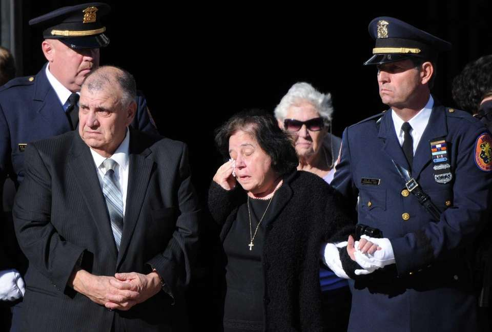 The parents of fallen police officer Joseph P.