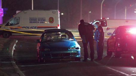 Nassau County police investigate after a pedestrian was