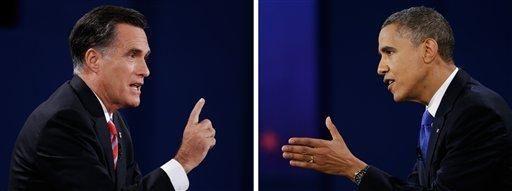 In this photo composite, Republican presidential nominee Mitt