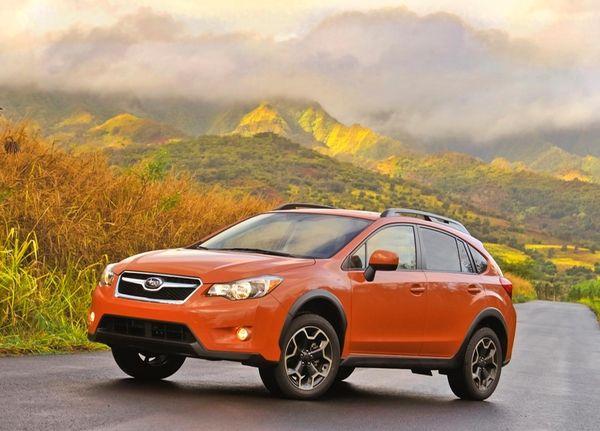 Subaru says its 2013 Crosstrek XV, a new