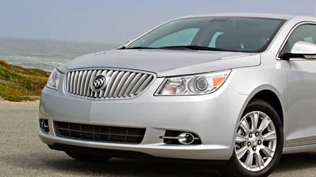 The 2012 Buick LaCrosse may need to be