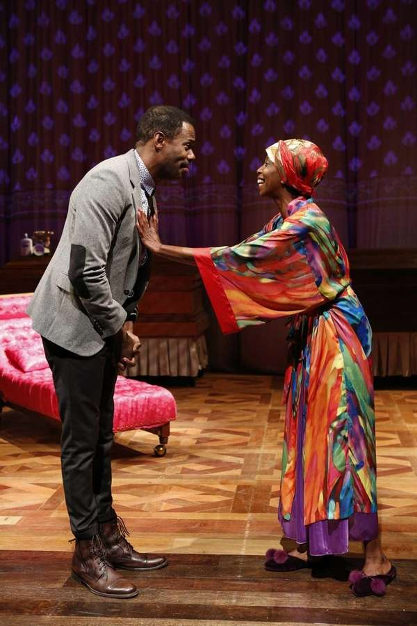 Colman Domingo and Sharon Washington in Wild With