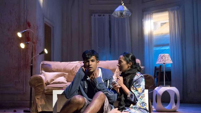 Utkarsh Ambudkar and Nitya Vidyasagar in