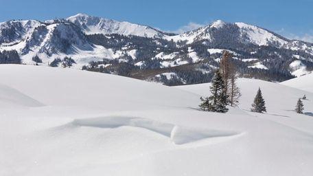 Winter in Deer Valley, Utah.