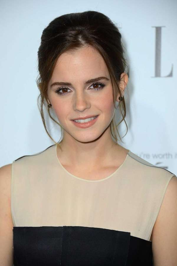 Actress Emma Watson arrives at ELLE's 19th Annual