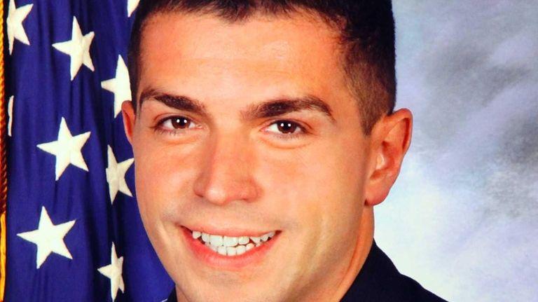Nassau Police Officer Arthur Lopez, 29, who died