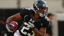 Rashad Jennings #23 of the Jacksonville Jaguars