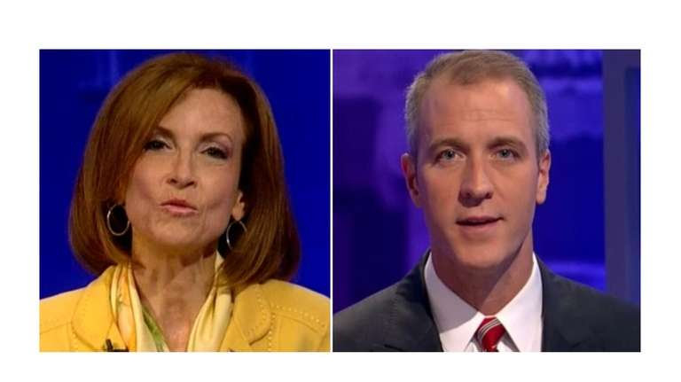 U.S. Rep. Nan Hayworth and Patrick Maloney discuss