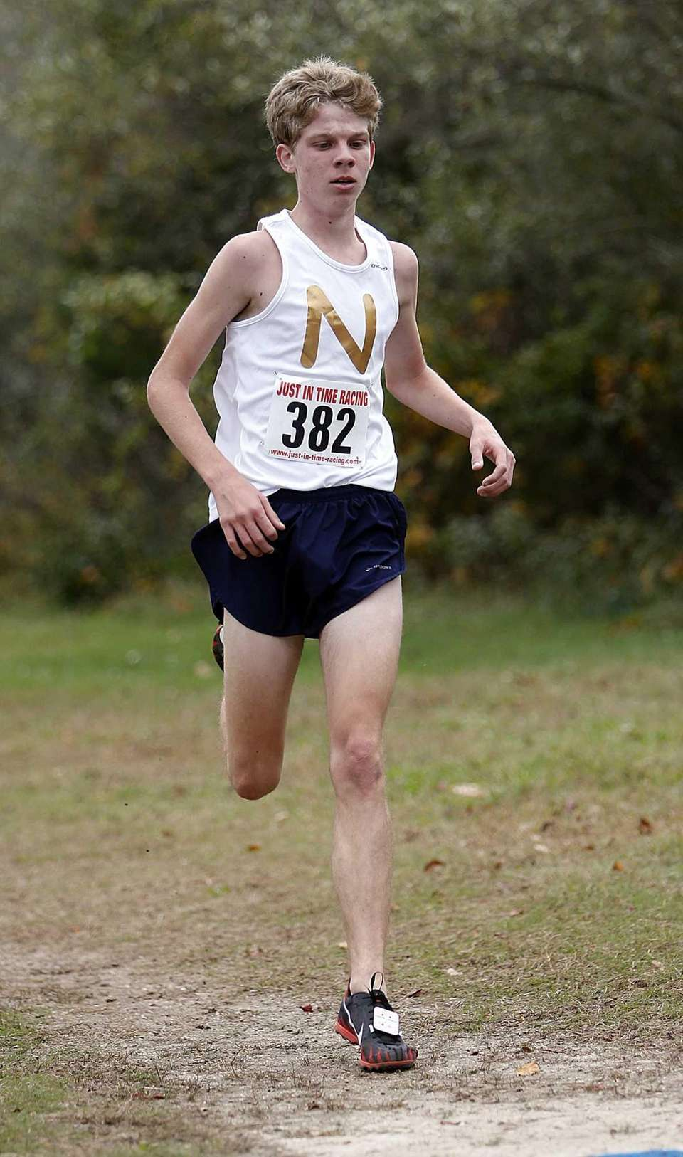 Northport's Tim McGowin (382) places second on his