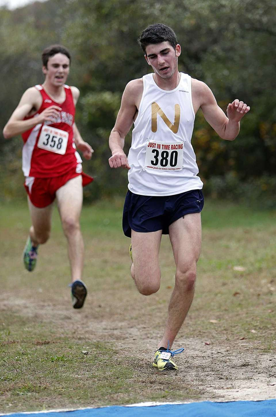 Northport's Alex Kramer (380) places fourth for his