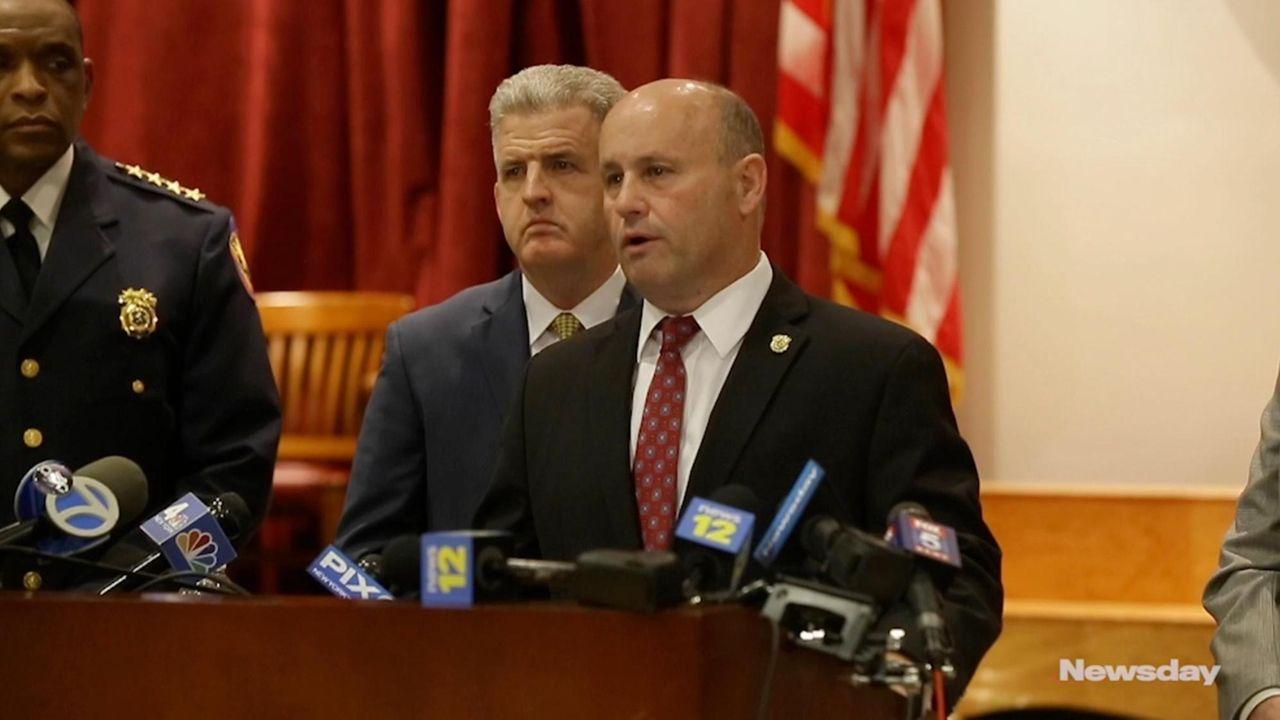 On Wednesday,Nassau County Police Commissioner Patrick Ryderspoke at