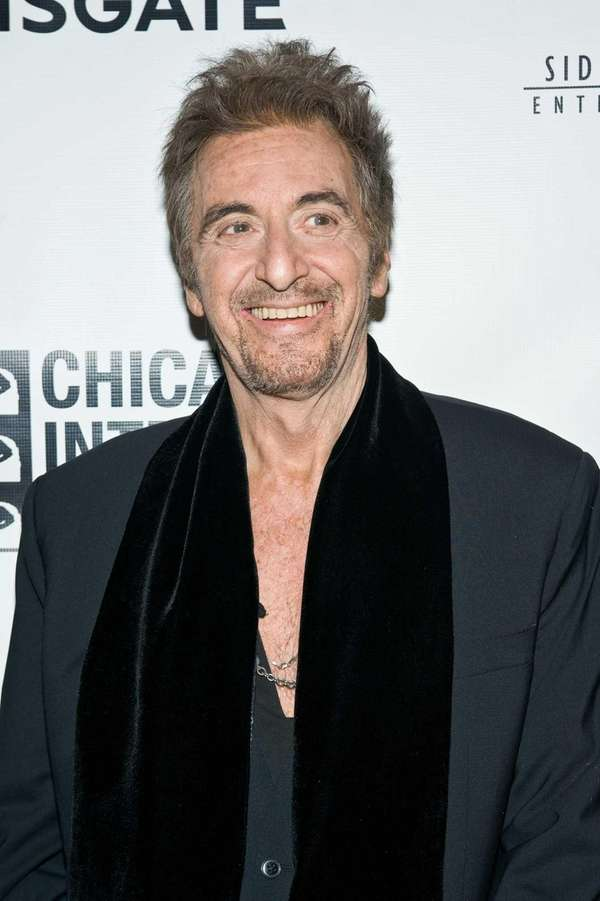 "Al Pacino attends the ""Stand Up Guys"" premiere"