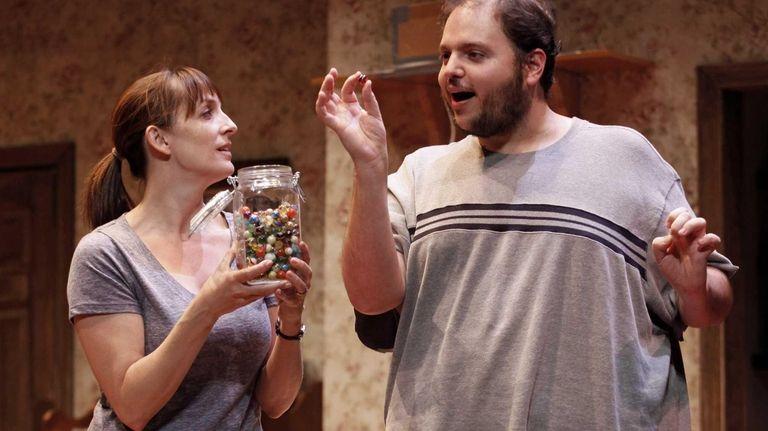 Julia Murney as Tami and Daniel Everidge as