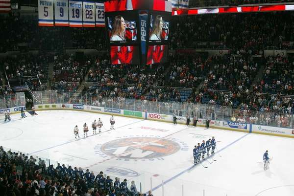 March28,2003 at NAssau Coliseum Toronto at Islanders. players