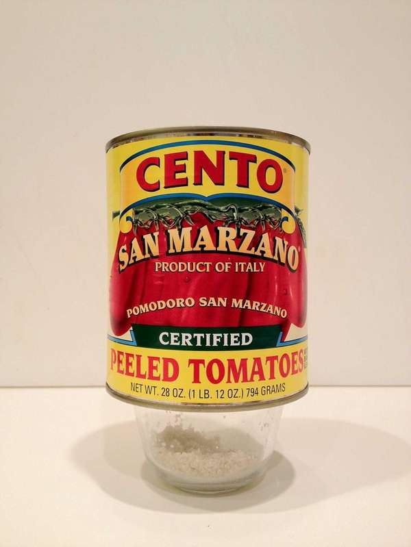 "Cento Italian tomatoes are ""certified"" San Marzanos. (Oct."