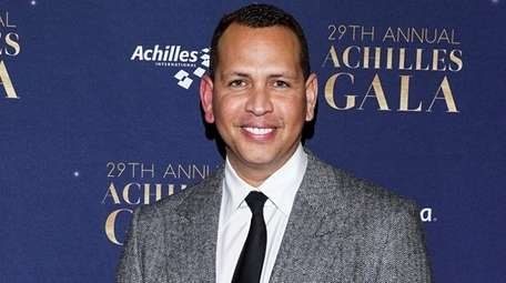 Alex Rodriguez arrives at the 29th Annual Achilles