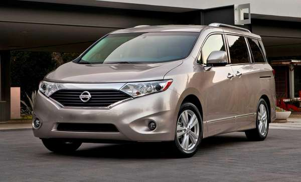 Prices for the 2012 Nissan Quest minivan start