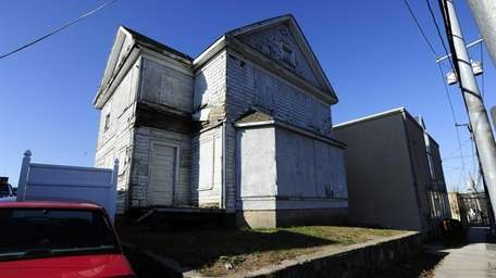 A vacant house in Port Washington that has