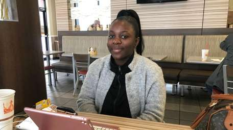 Rebecca Luanda is 19 and attends NHTI-Concord's Community