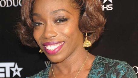 NEW YORK, NY - OCTOBER 24: Singer Estelle