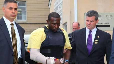 Suspect Darrell Fuller, accused of killing Officer Arthur