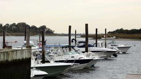 The Town of Hempstead's Inwood Marina, where a