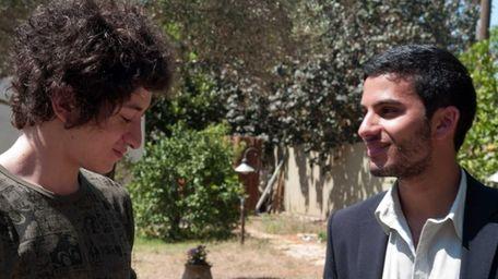 Joseph (Jules Sitruck) and Yacine (Mehdi Dehbi) star