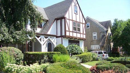 A Tudor style home at 605 N. Village