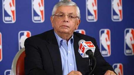 Commissioner of the NBA, David Stern