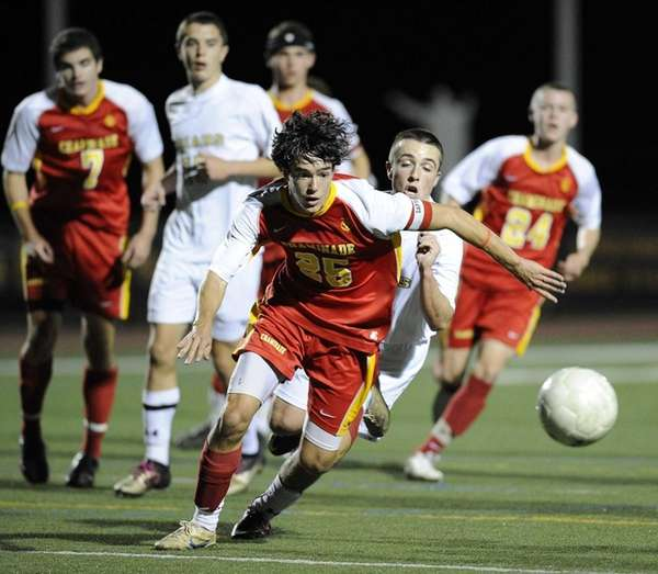 Chaminade's Joseph Randazzo runs for a loose ball
