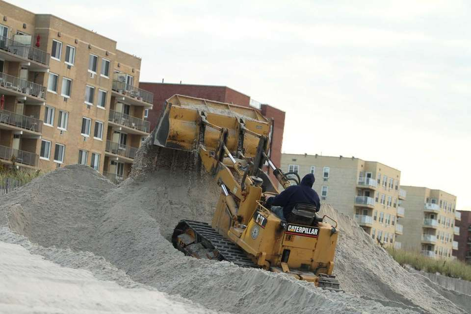 Long Beach City employees prepare for the upcoming