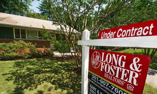A home for sale and ?under contract? in
