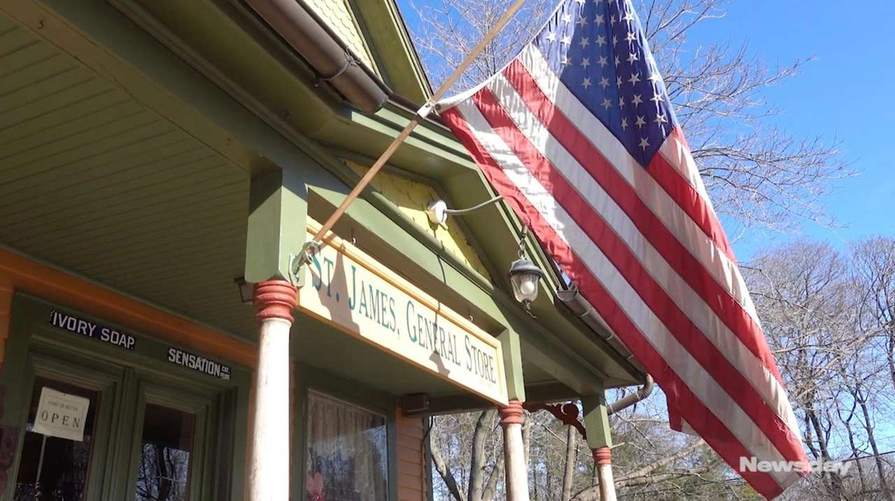 The St. James General Store is reputedly the