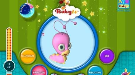The Musical NightLight app from BabyTV is available