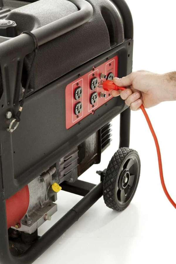 Think about installing an emergency generator: Once the