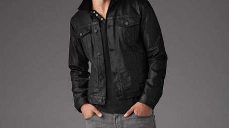 COAT THAT JACKET Leather's cool--no question. (See Brando,