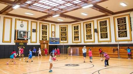 Bridgehampton's gym was used for the final time