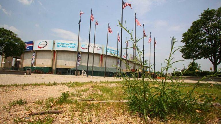 The Nassau Coliseum in Uniondale, New York.