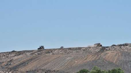 The Town of Brookhaven landfill located on Horseblock