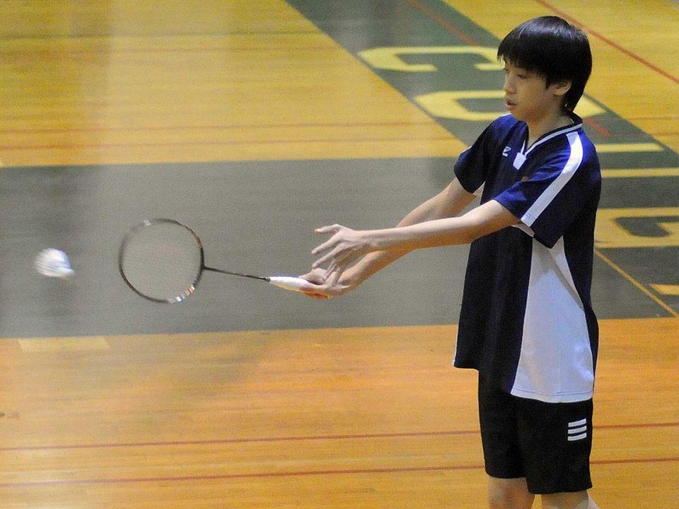 Great Neck North High School freshman Anson Cheung