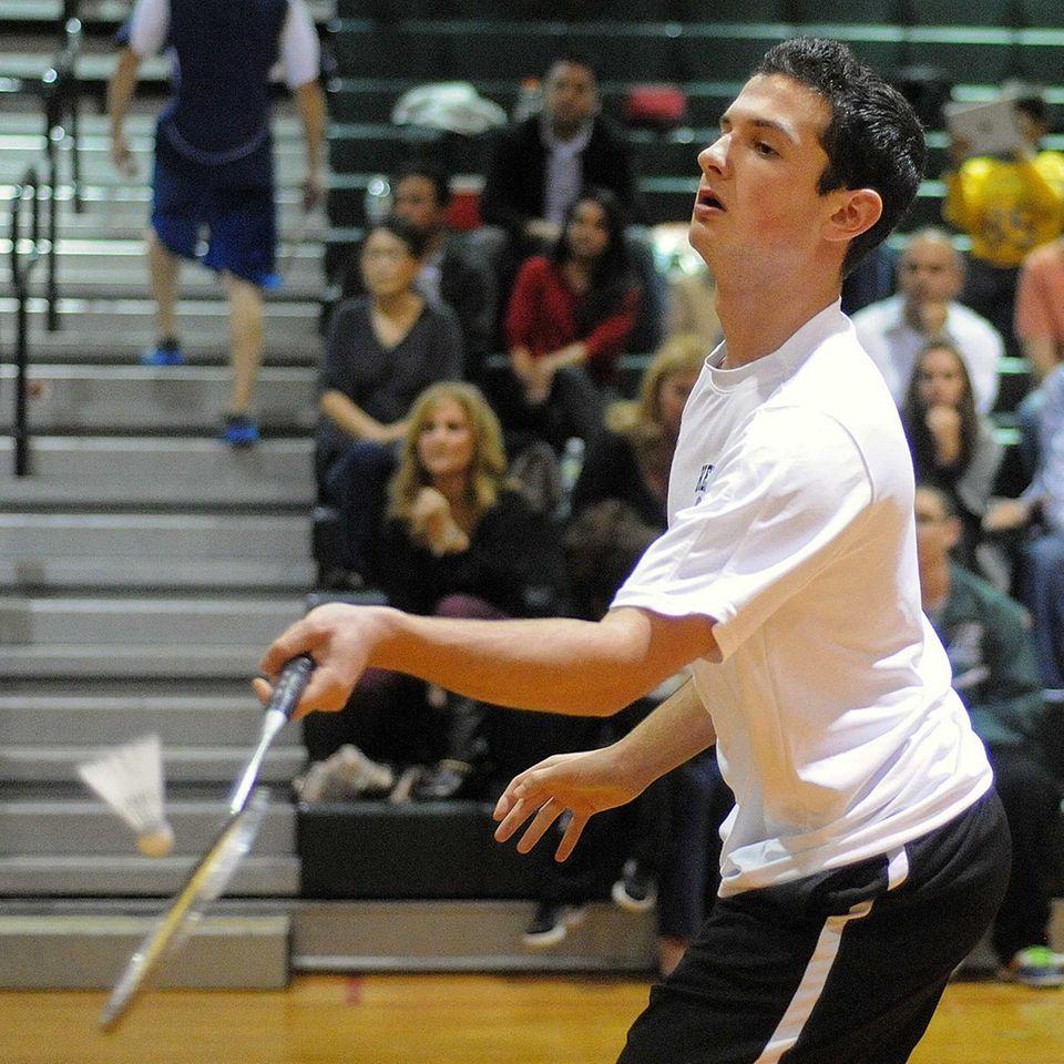 Bellmore JFK High School's Jesse Richheimer makes a