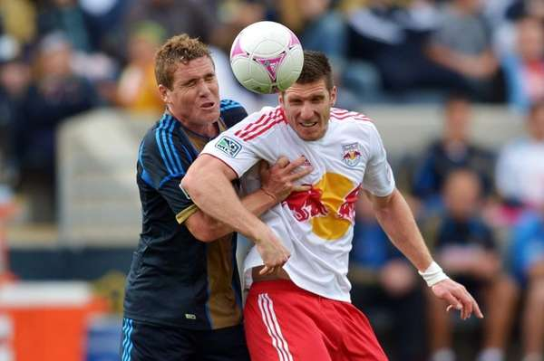 The Union's Chris Albright and the Red Bulls'