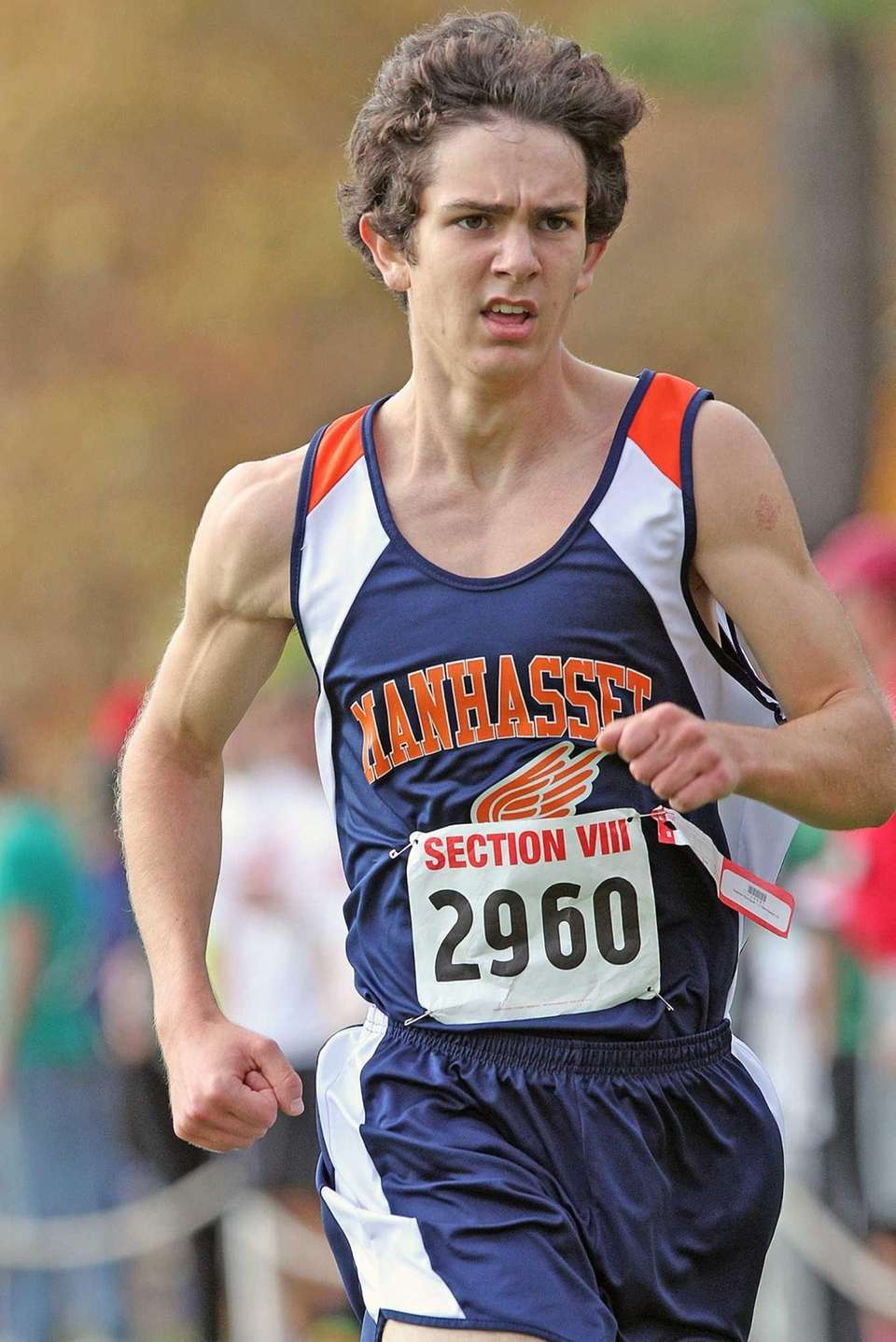 Manhasset's Stephen Bourguet wins the boys Nassau III