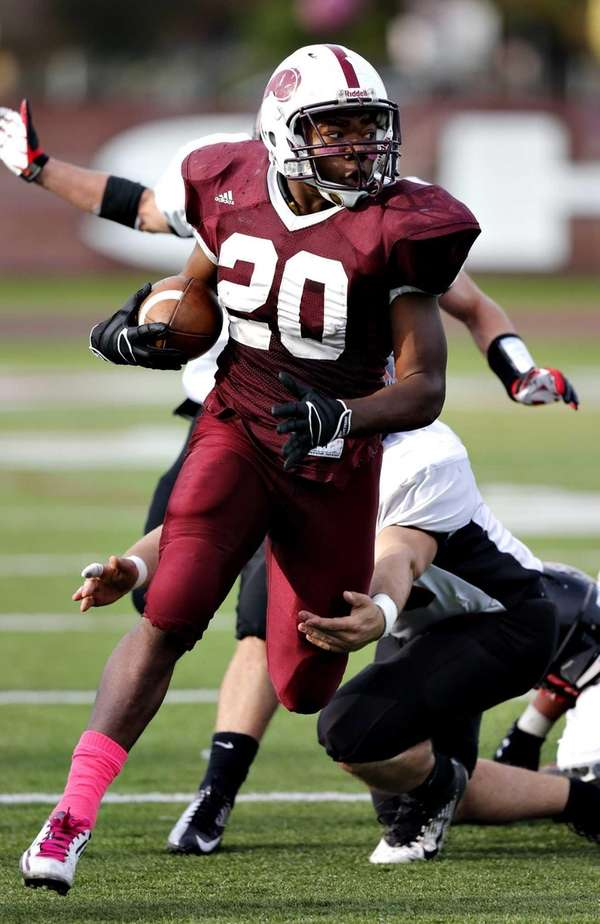 Bay Shore running back Matthias Eato, who had
