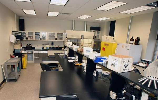 The Nassau County Crime Lab in Mineola. (December